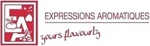 EA EXPRESSIONS AROMATIQUES YOURS FLAVOURLY