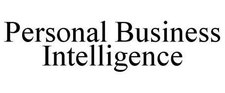 PERSONAL BUSINESS INTELLIGENCE