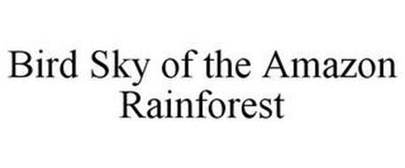 BIRD SKY OF THE AMAZON RAINFOREST