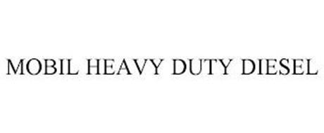 MOBIL HEAVY DUTY DIESEL