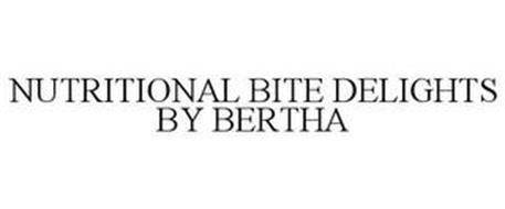 NUTRITIONAL BITE DELIGHTS BY BERTHA