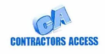 Ca Contractors Access Trademark Of Ez Flo International