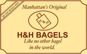 WE SHIP WORLD- WIDE MANHATTANS ORIGINAL H&H H&H BAGELS LIKE NO OTHER BAGEL IN THE WORLD