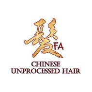 SHUN FA CHINESE UNPROCESSED HAIR