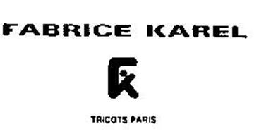 FABRICE KAREL TRICOTS PARIS