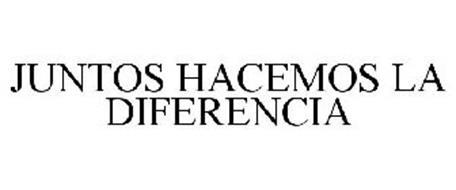 JUNTOS HACEMOS LA DIFERENCIA