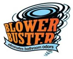 BLOWER BUSTER ELIMINATES BATHROOM ODORS