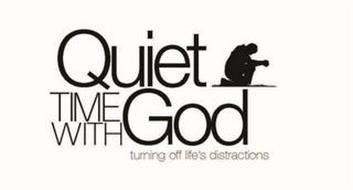 QUIET TIME WITH GOD TURNING OFF LIFE'S DISTRACTIONS