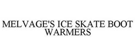 MELVAGE'S ICE SKATE BOOT WARMERS