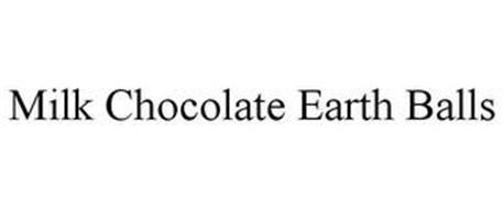MILK CHOCOLATE EARTH BALLS