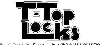 T-TOP LOCKS