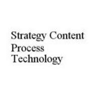 STRATEGY CONTENT PROCESS TECHNOLOGY