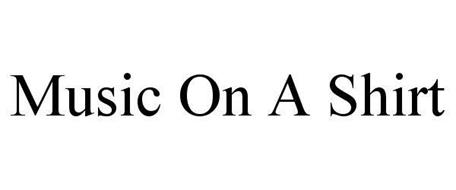 (M) (O) (S) MUSIC ON A SHIRT