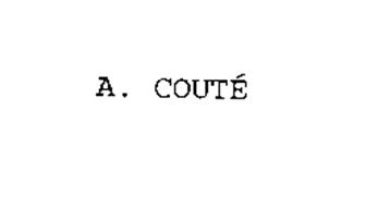 A. COUTE