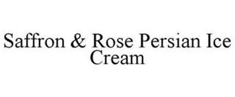 SAFFRON & ROSE PERSIAN ICE CREAM