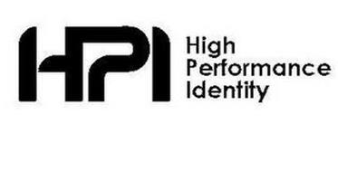 HPI HIGH PERFORMANCE IDENTITY