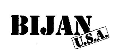 BIJAN U.S.A.