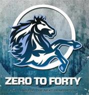 ZERO TO FORTY FIGHTING FOR THE NEXT GENERATION