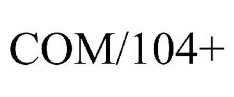 COM/104+