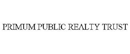 PRIMUM PUBLIC REALTY TRUST