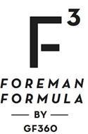 F3 FOREMAN FORMULA BY GF360