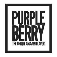 PURPLE BERRY THE UNIQUE AMAZON FLAVOR