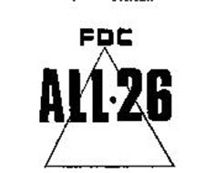 FDC ALL-26