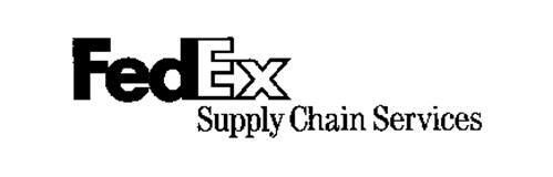 FEDEX SUPPLY CHAIN SERVICES Trademark of Federal Express ...