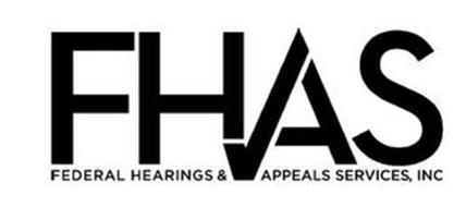 FHAS FEDERAL HEARINGS & APPEALS SERVICES, INC