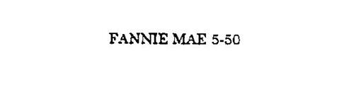 FANNIE MAE 5-50