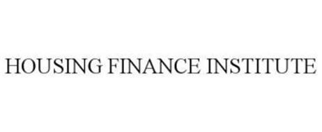 HOUSING FINANCE INSTITUTE