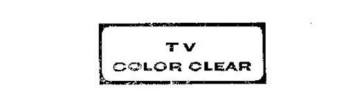 TV COLOR CLEAR