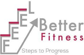 FEEL BETTER FITNESS STEPS TO PROGRESS