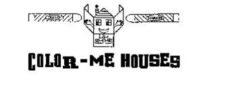 COLOR-ME HOUSES CRAYON MARKER
