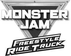 MONSTER JAM FREESTYLE RIDE TRUCK