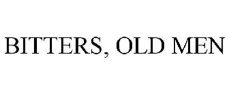 BITTERS, OLD MEN