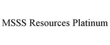 MSSS RESOURCES PLATINUM
