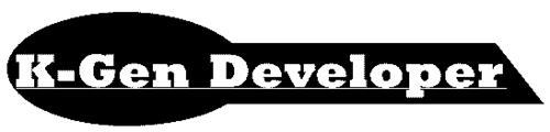 K-GEN DEVELOPER