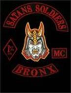 SATAN'S SOLDIERS 1% ER 666 MC BRONX