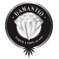 · DAMANTIO · TEQUILA 100% AGAVE