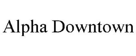 ALPHA DOWNTOWN