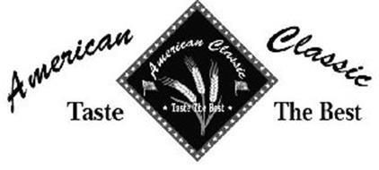 American classic taste the best trademark of fernando 39 s for American classic logo