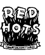 RED HOTS CINNAMON FLAVORED CANDIES