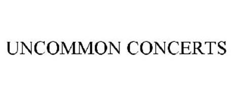UNCOMMON CONCERTS