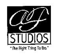 """AF STUDIOS """"THE RIGHT THING TO DO."""""""