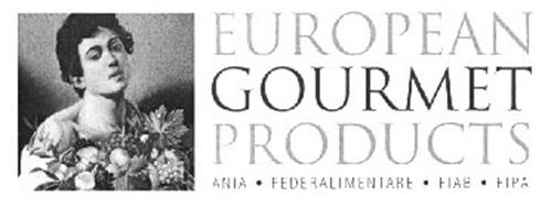 EUROPEAN GOURMET PRODUCTS ANIA · FEDERALIMENTARE · FIAB · FIPA