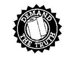 DEMAND THE TRUTH