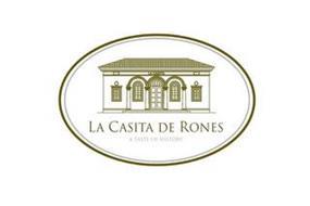LA CASITA LA CASITA DE RONES A TASTE OFHISTORY