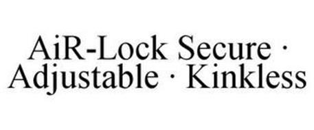 AIR-LOCK SECURE · ADJUSTABLE · KINKLESS