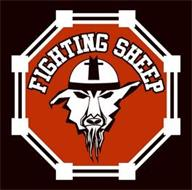 FIGHTING SHEEP